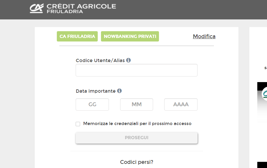 nowbanking credit agricole
